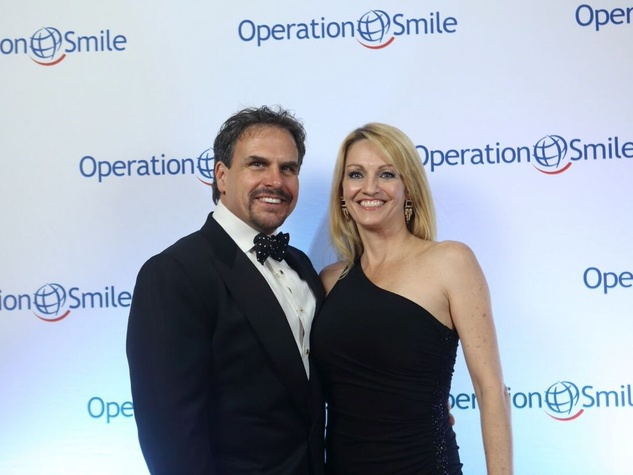 Operation Smile Gala 2015 Scott and CC Ensell