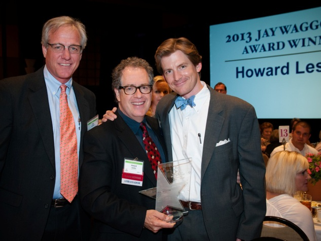 The Council Spring Luncheon April 2013 Rob Arnold, Howard Lester, John Guill