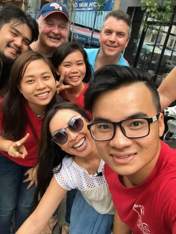 Saigon Stories: Lily Jang and the production crew