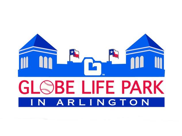 Logo for Globe Life Park in Arlington