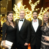 News, Shelby, Women's Home gala, Nov. 2015,  Elaine and Jim Turner, Brendan and Jenna Gilbert