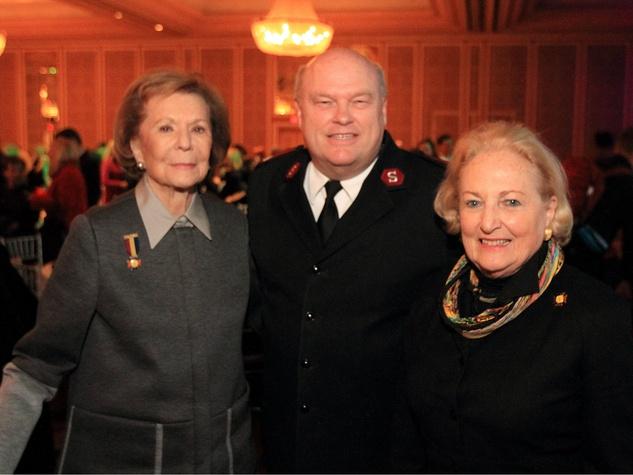 Ruth Altshuler, Major Ward Matthews, and Margot Perot, DTMG Luncheon