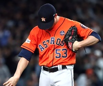 Houston, Astros ALCS, Ken Giles, October 2017