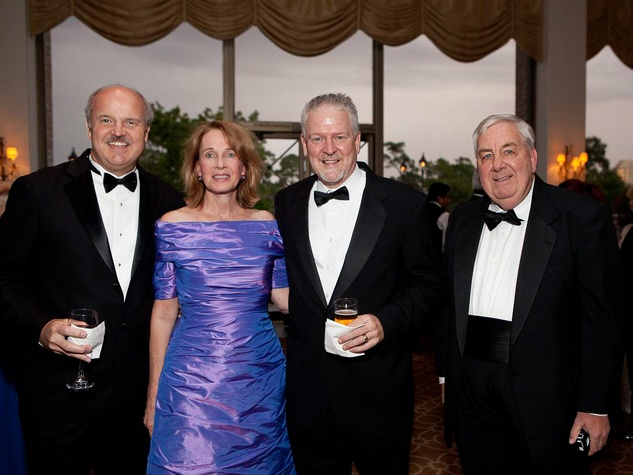 273 Gary Greaser, from left, Karen and Brant Wilson and Stephen Reyenga at the Blue Bird Circle Gala October 2013