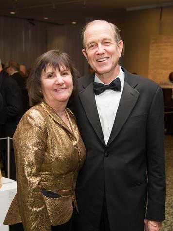 Leslie and Brad Bucher at the MFAH Latin American Experience November 2013
