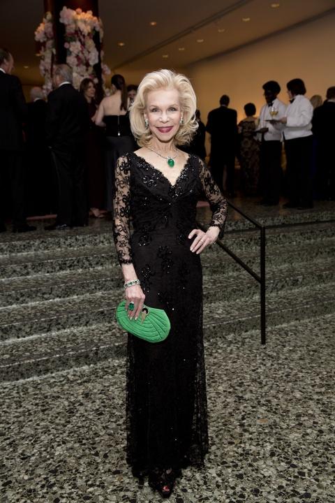 Lynn Wyatt at Museum of Fine Arts Grand Gala Ball