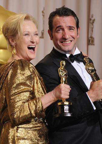 News_Meryl Streep_Jean Dujardin_Academy Awards