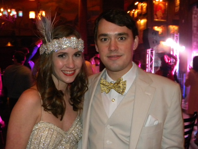 Lilly Lewis and Harrison Cullen at the TIRR party January 2015