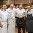 Charles Carroll, from left, Charles Clark, Mark Cox and Ryan Hildebrand at Best Cellars September 2014