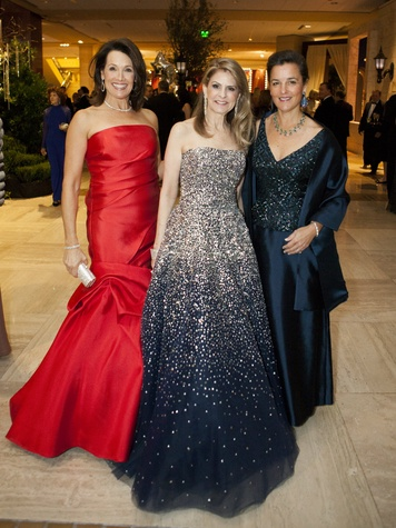 Pam Perella, Caren Kline, Betsy Eiseman at Crystal Charity Ball 2013