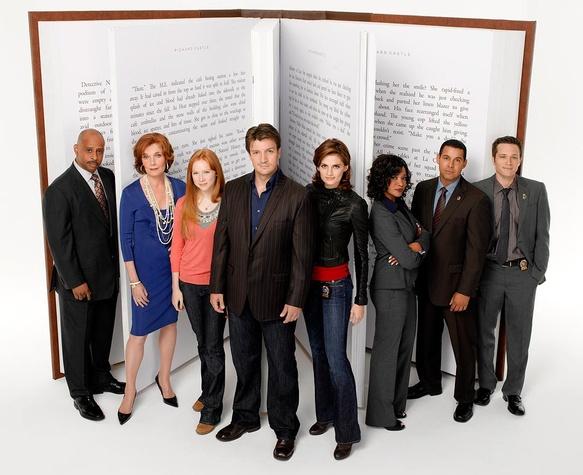 the cast of Castle TV show