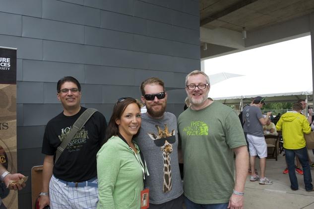 17 Texas Monthly BBQ Festival September 2014 Will Buckman Nichole Buckman Wayne Kammerl
