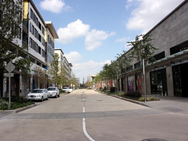 Houston, River Oaks District, October 2015, complex road