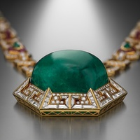 Houston Museum of Natural Science exhibition opening: Bulgari: 130 Years of Masterpieces