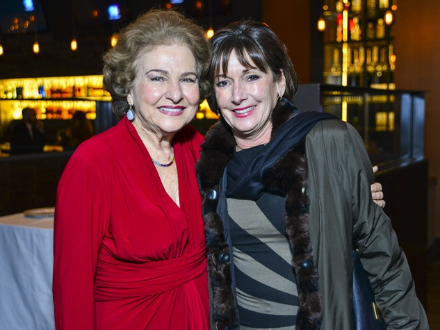 17 Joanne Crassas, left, and Cathy Clear at Vallone's opening party November 2013