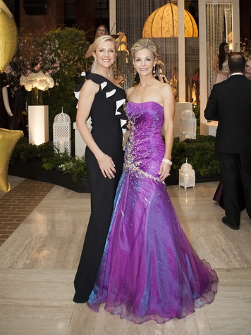 Katherine Coker, Amy Hegi, Crystal Charity Ball 2014