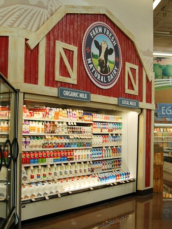 Sprouts Farmers Market, dairy products, milk
