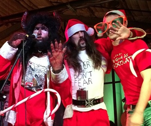 Wild Bill and the Lost Knobs_Honky Tonk Holidaze_The ABGB_2014