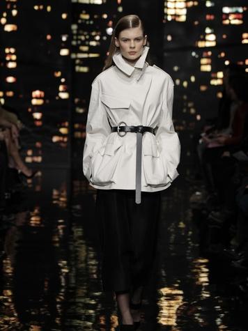 Look 24 Clifford Pugh New York Fashion Week fall 2015 February 2015 Donna Karan