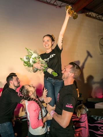 Speed Rack Texas 2017 Elyse Blechman victory