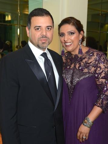 15 Pershant and Nidhika Mehta at the UNICEF Gala October 2014