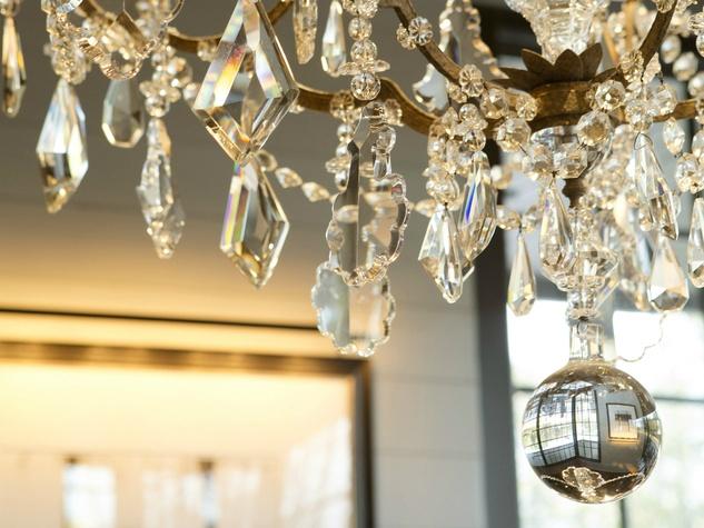 LaV restaurant east austin chandelier