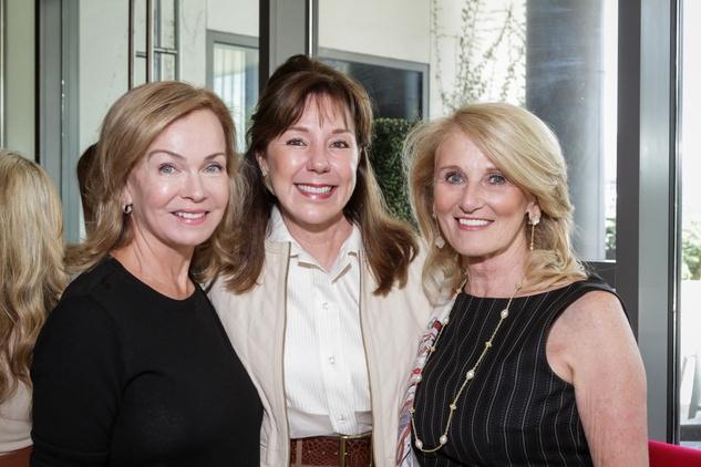 News, Shelby, Dec My Room luncheon, Oct. 2015 Alice Mosing, Elzabeth Stein and Denise Monteleone