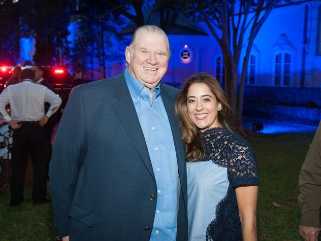 Houston, HPD True Blue Gala, Oct. 2016, Paul  Somerville, Kristina Somerville
