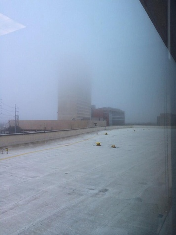 fog in Houston February 2014 like London Fog
