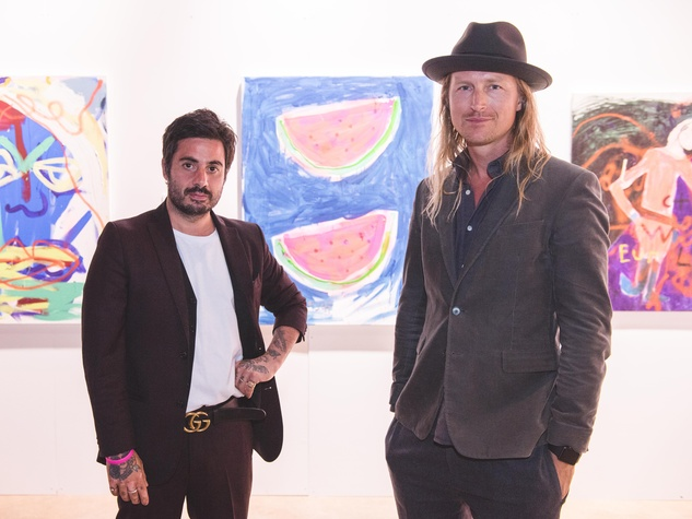 Pop Austin International Art Show 2016 Daniel Youssef Walter Naeslund