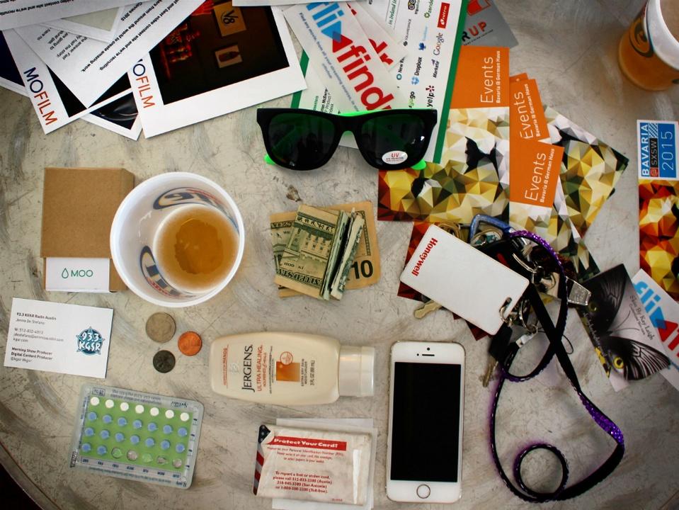 SXSW_festival preparedness_Jenna DeStefano_bag_2015