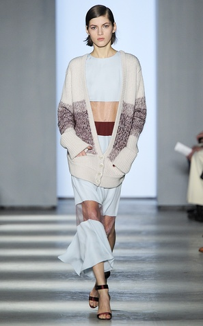 Wes Gordon look 3 fall 2014 collection