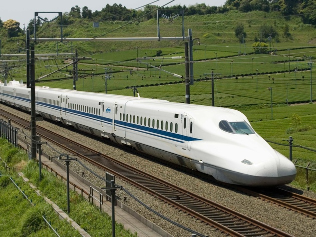 4 Texas Central Rail high-speed bullet train rail