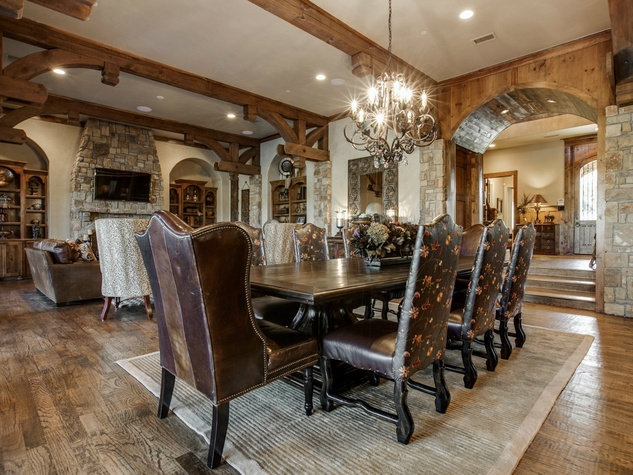 Dining room at 1724 Wisteria Way in Westlake