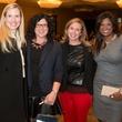 Lisa Hewitt, Alyson Ray, Lara Gaither and Shivani Naidoo, milestones luncheon