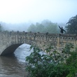 Stephan Lorenz Travels in Peru October 2013 Bridge across the Rio Tingo on the hike to Kuelap