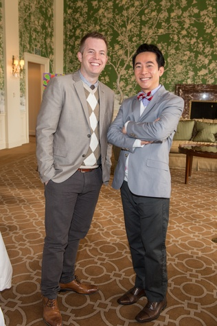 9 Jack McBride, left, and Long Chu at the HSPVA 9th Annual Encore for Excellence luncheon February 2015