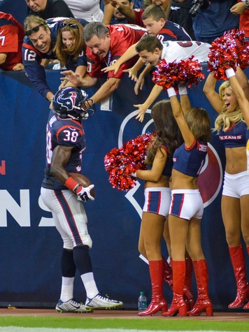 Andre Hal Texans 49ers celebrate
