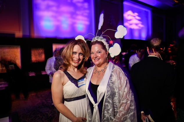 Jackie Ford, left, and Laura Peters at DREAMSCAPE The Orange Show's 32nd Annual Gala November 2013