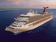 Carnival Triumph cruise ship ocean