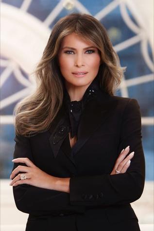 Melania Trump official photo