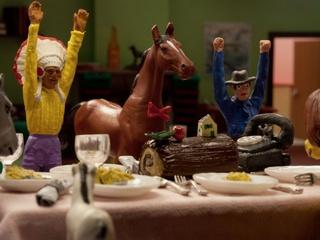 Austin Film Society presents A Town Called Panic: The Christmas Log & Rerturn to School
