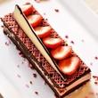 MKT Bar Valentine's Day The Lover chocolate almond sponge cake