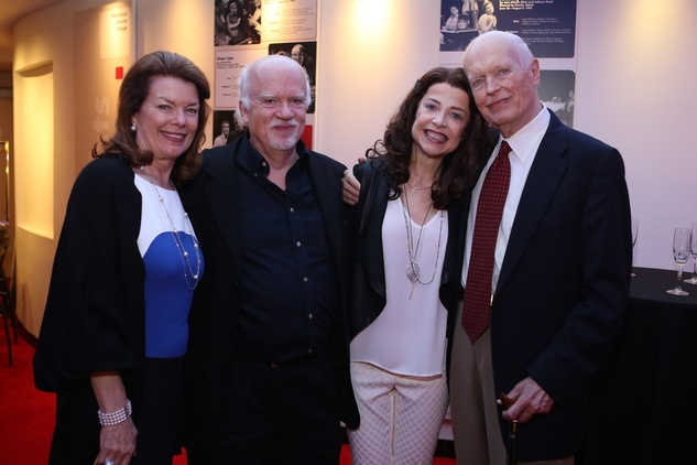 5755 Kathryn Ketelsen, from left, Gregory Boyd, Josie de Guzman and Jim Ketelsen at the Alley Opening Night dinner May 2014