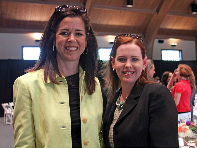 Julie Sedberry and Rebecca Jordan, Just say Yes luncheon