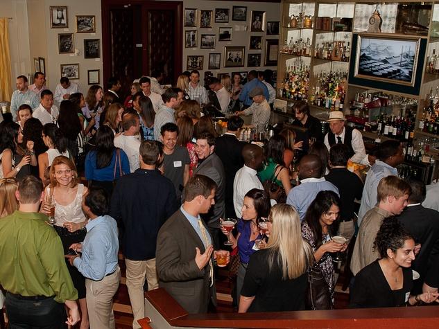 Houston Young Professionals, launch party, June 2012, crowd, venue