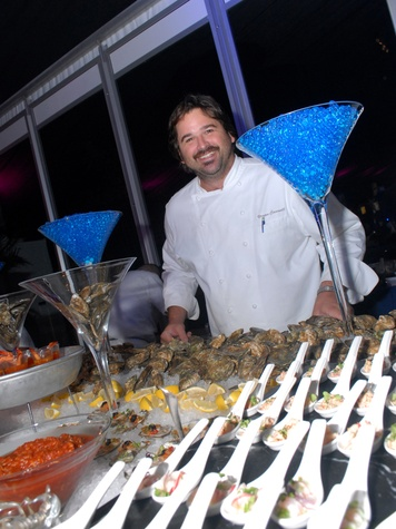 9 4082 chef Bryan Caswell of Reef at Club Berlin Baker Institute party November 2013