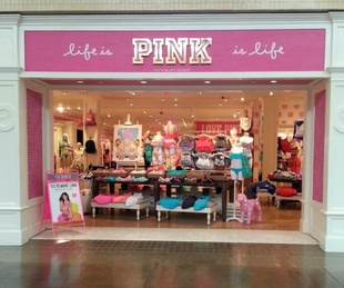 Pink at NorthPark Center in Dallas