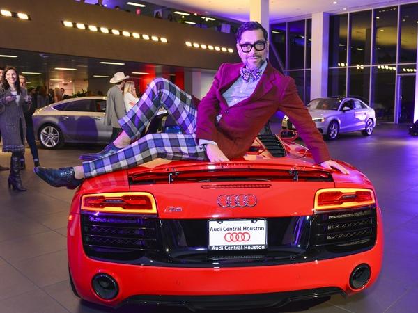 Fast Cars Hot Women Big Guns Turn Luxury Dealership Into - Houston audi
