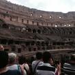 Jane Howze trip to Rome September 2014 Inside The Coliseum
